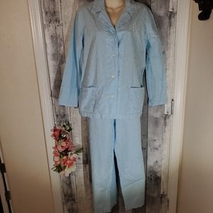 Striped Ralph Lauren pajama set size medium